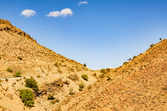 Typical landscape of southern Morocco. Royalty Free Stock Image