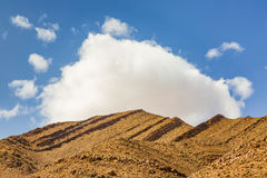 Typical landscape of southern Morocco. Royalty Free Stock Images