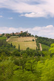 Typical landscape of Tuscany Royalty Free Stock Photos