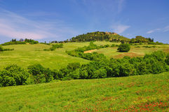 Typical Landscape in Tuscany Stock Photos