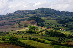 Typical landscape in the Tuscany, Italy. Stock Images