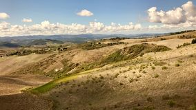 Typical landscape in Tuscany, Italy Royalty Free Stock Images