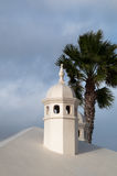 Typical Lanzarote Chimneys Stock Photos