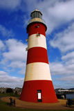 Typical lighthouse in Plymouth,UK Stock Photo