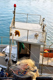 Typical Ligurian fishing. Voltri Genoa Stock Images