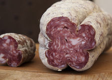 Typical ligurian salumi Stock Photo