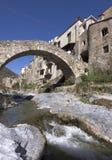 Typical ligurian village Stock Photos