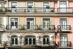 Typical Lisbon architecture, Portugal Royalty Free Stock Image