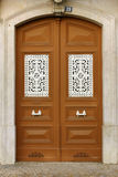 Typical Lisbon door Royalty Free Stock Photography