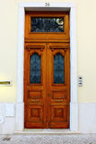 Typical Lisbon Door Stock Photo