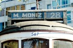 Typical Lisbon Tram royalty free stock photo