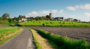 Typical little french Village in Normandy - France Stock Images