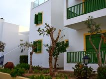 Typical local Mediterranean Cypriot style house Cyprus royalty free stock photos