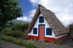 Typical Madeira house. Near Santana Royalty Free Stock Images