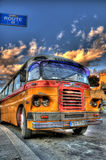 Typical Malta Bus Royalty Free Stock Photography