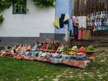 Typical Market. In Transylvania,Romania Stock Photography