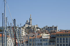 Typical Marseille in France Stock Photo