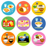 Typical meals in Japan Stock Photos