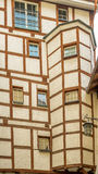 Typical medieval architecture of a house in Chur Stock Photography