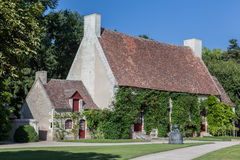 Typical Medieval Cottage House Chenonceau France Stock Images