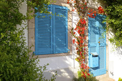 A typical Mediterranean house Stock Images