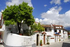 Typical Mediterranean houses Royalty Free Stock Photos