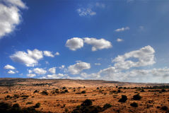 Typical Mediterranean landscape Royalty Free Stock Images