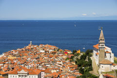 Typical Mediterranean town Stock Photography
