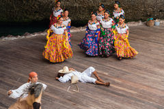 Typical Mexican Dance Stock Photo