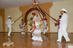 Typical Mexican dancers Stock Photography