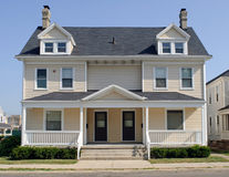 Typical Midwest Duplex House Stock Photos