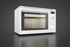 Typical modern microwave Royalty Free Stock Image