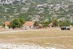 Typical Montenegrinisch  village Han. Stock Photo