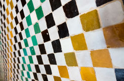 Moorish tiles Royalty Free Stock Photo