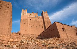 Typical moroccan kasbah Stock Photo