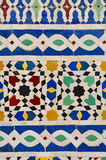 Typical moroccan mosaic Royalty Free Stock Photography