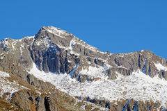 Typical mountain landscape in the Dolomites in Italy,Europe Royalty Free Stock Photos