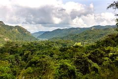 Landscape near Cienfuegos, Cuba Royalty Free Stock Photography