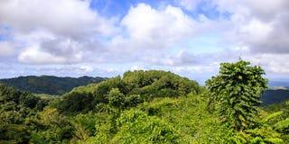 Landscape near Cumanayagua, Cuba Royalty Free Stock Photos
