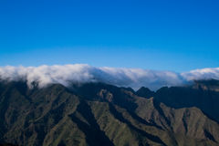 Typical mountains on La Gomera Royalty Free Stock Images