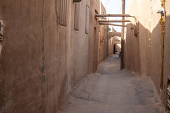 Typical narrow alley Stock Photo