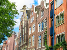 Typical Netherlands houses Royalty Free Stock Photo