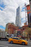 Typical New York City street view Royalty Free Stock Photo