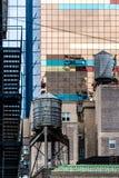 Typical New York Facades Stock Photography