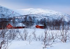 A typical Norwegian house. Stock Photography