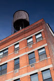 Typical NY Water Tower Stock Photo