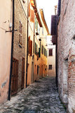 Urbania alley Stock Photography