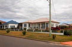 Typical Old Australian Suburban Houses Royalty Free Stock Photos