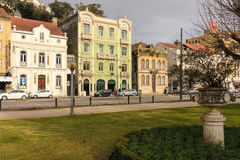 Typical old buildings. Coimbra . Portugal Stock Photography