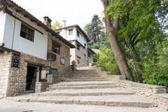 Typical old Bulgarian architecture, Balchik Stock Image